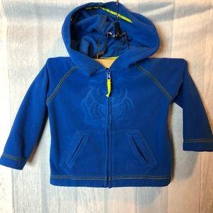 REI Boy Toddler Zip Up Lightweight Fleece Jacket